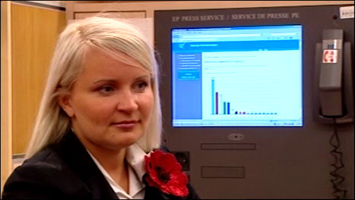 Estonian journalist Riina Luik