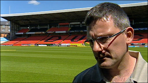 Dundee Utd manager Craig Levein