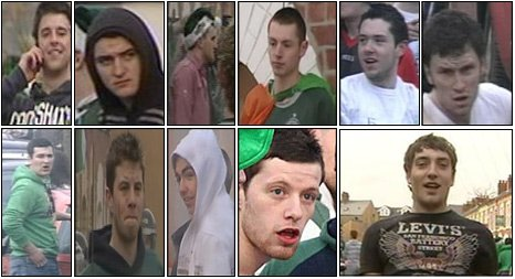 Police have appealed for help in identifying these men