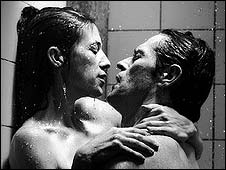 Charlotte Gainsbourg and Willem Dafoe in Antichrist