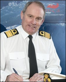 Picture of Peter Dymond from the Maritime and Coastguard Agency