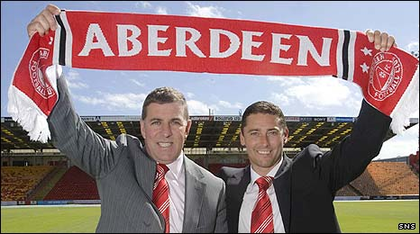 Mark McGhee and Scott Leitch