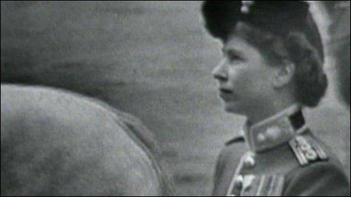 Princess Elizabeth in 1951