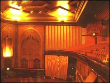 Interiors of the Granada, now known as EMD cinema