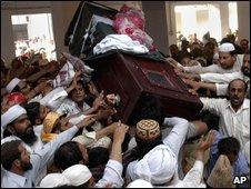 Funeral of Sarfraz Naeemi