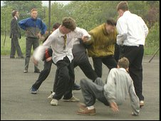 Bullying scene