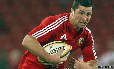 Lions full-back Rob Kearney