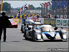 Peugeot takes the chequered flag at Le Mans