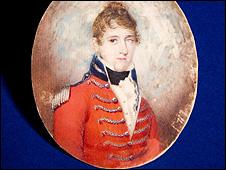 Portrait of James Glencairn Burns (National Trust for Scotland Photo Library)
