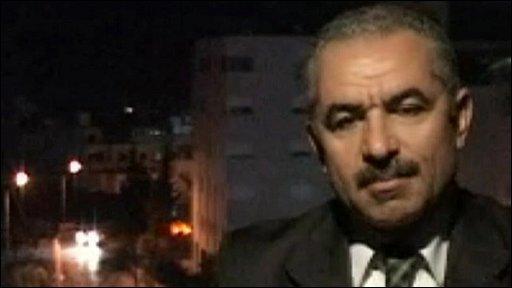 Palestinian Economy Minister Mohammad Shtayyeh