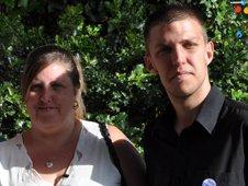 Jo Ebling(mother) and Bradley Hudd