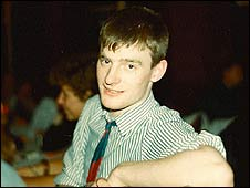 Jeremy Vine in 1985