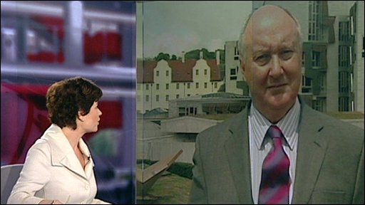 Sir Kenneth Calman talks to BBC's Jane Hill