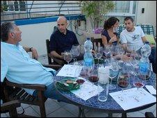 A Tel Aviv wine tasting evening