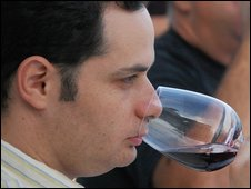 Shai Segev, wine critic for the Yediot Ahranot newspaper