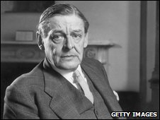 T S Eliot in September 1958.