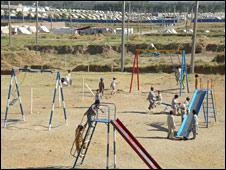 Children's play area in Buner