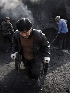 Chinese coal miners (Image: AP)
