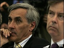 John Redwood listening to the candidates