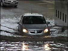 St Austell flooding