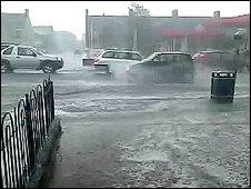 Bishop Auckland flooding