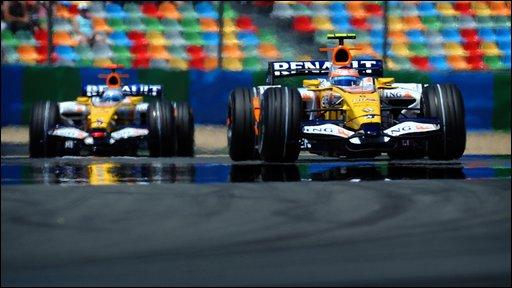 Fernando Alonso & Nelson Piquet