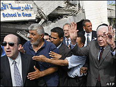 Jimmy Carter in Gaza, 16.06.09