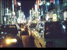 Tokyo evening rush hour
