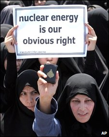 Pro-nuclear demonstration [file pic]