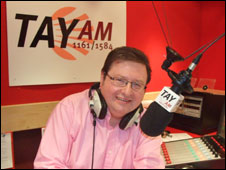 Radio Tay boss Ally Ballingall is now director of Bauer's AM Scotland
