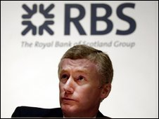 Sir Fred Goodwin, former Chief Executive of the Royal Bank of Scotland