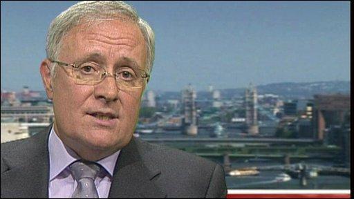 BBC Trust Chairman Sir Michael Lyons