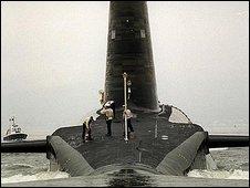 HMS Vigilant, one of Royal Navy's Trident submarines