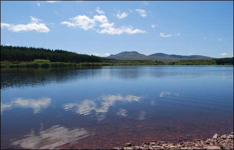 This was Rob Troi's view when he went fly fishing recently at Usk Reservoir.