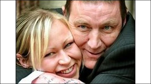 Ian Lawless and daughter Laura Jayne Lawless