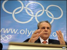 IOC President Jacques Rogge 16.6.09