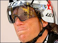 Cyclist Tyler Hamilton