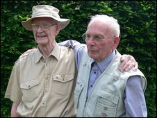 John Riggs (l) and Rudolph Schneider (r)