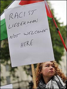 Avigdor Lieberman visit to London (13.05.09)