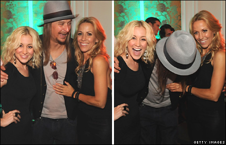 Kellie Pickler, Kid Rock and Sheryl Crow