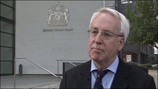 Former Cawston Park Hospital chief executive Andrew Breeze