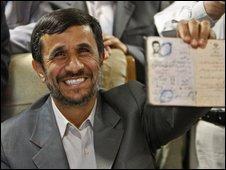 Iranian President Mahmoud Ahmedinejad