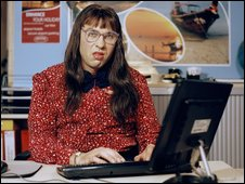 Carol Beer in Little Britain Abroad