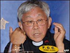 Cardinal Zen in Hong Kong - 1/6/2009