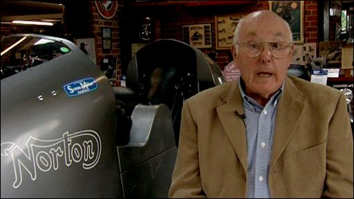 Formula 1 commentating legend Murray Walker