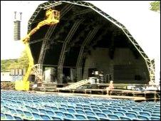 Faenol festival stage