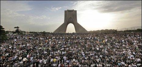 Protest in Tehran, 15 June