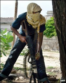 Somali Islamist insurgents in Mogadishu (17 June 2009)