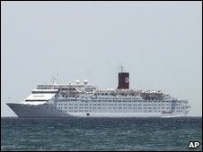 Cruise ship Ocean Dream near Margarita Island  17.6.09
