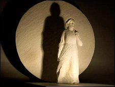 Scale model of Martin Jennings Mary Seacole statue
